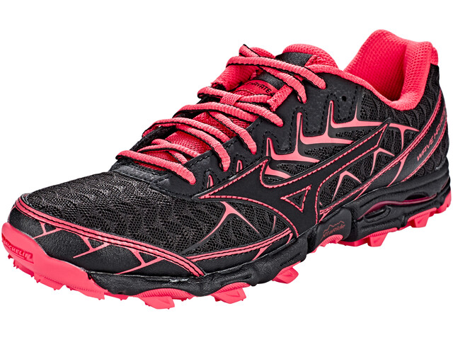 Mizuno Wave Hayate 4 Running Shoes Women black/black/teaberry